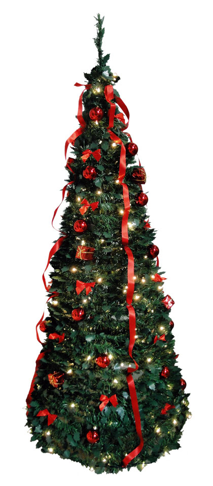 One Minute Tree – Rood 300 Cm