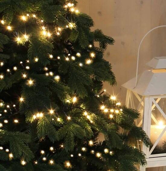 Warm witte kerstverlichting - kerstboom.nl