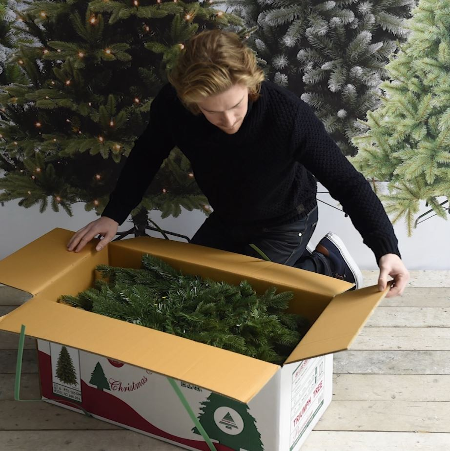 Kunstkerstboom Verpakking Triumph Tree