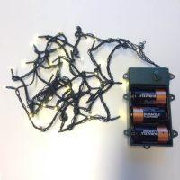 Kerstverlichting 3 Mm LED Lampjes Met Batterij