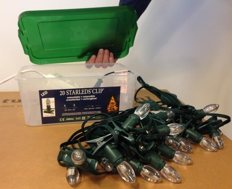 Kerstverlichting Kaars LED Inclusief Keepdry Box