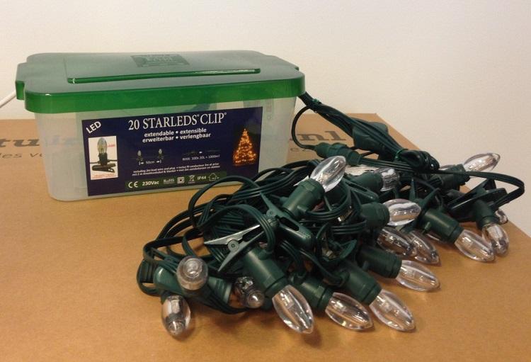Kerstverlichting Kaars LED Met Gesloten Keepdry Box