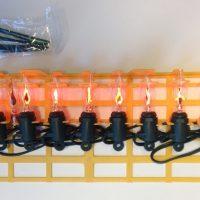 Kerstverlichting Kaars NEON 10 Lampjes