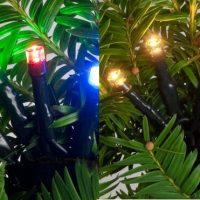 Multi-licht Kerstverlichting Warmwit-multicolor LED Sfeerfoto