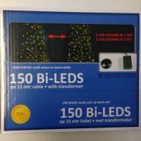 Multi-licht Kerstverlichting Warmwit-multicolor LED Verpakking