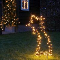 Vallende Ster Tuinsteker Inclusief LED Sfeerfoto